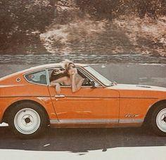 Orange aesthetic vintage retro car - Before After DIY