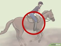 Image titled Keep Your Balance on a Galloping Horse Step 2