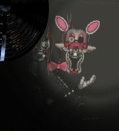 five nights at freddy's 2 - New foxy or vixen, super creepy looking, love it though! Lol