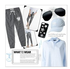 """""""Casual"""" by amaricooke ❤ liked on Polyvore featuring Abercrombie & Fitch, Alexander Wang, adidas Originals, cute, contest, casualoutfit, fashionable and women"""