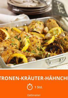Zitronen-Kräuter-Hähnchen - smarter - Zeit: 1 Std.   eatsmarter.de