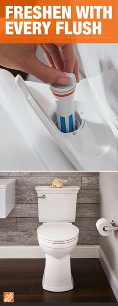This self-cleaning toilet freshens and deodorizes with every single flush. With a combination of Lysol and powerful flush hydraulics, the VorMax Plus removes stains and buildup, saving you from your…More Small Bathroom, Master Bathroom, Bathroom Ideas, Bathroom Mold, Bathroom Stuff, Ikea Bathroom, Basement Bathroom, Bathroom Interior, Modern Bathroom