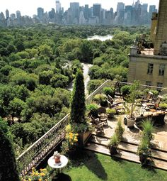New York City fabulous rooftop patios