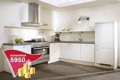Landelijke keuken in magnolia. | DB Keukens