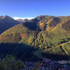 #Telluride sunrise from the Jud Wiebe trail, taken on August 12th, 2014.