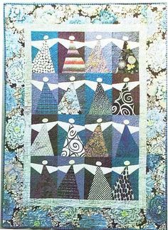 Peace Angels Quilt Pattern by Starry Night Hollow at Creative Quilt Kits