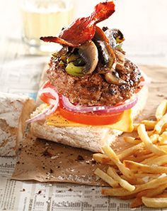 Checkers - Better and Better | Mushroom and cheese boerie burger @Checkers.co.za #braai