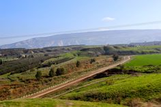 The Jezreel Valley from Beit Shean