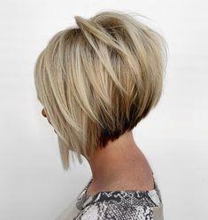 Medium Stacked Haircuts, Inverted Bob Hairstyles, Short Bob Haircuts, Short Stacked Hairstyles, Short Stacked Bobs, Short Stacked Wedge Haircut, Angled Bobs, Bob Haircut Back View, Bob Haircut For Fine Hair
