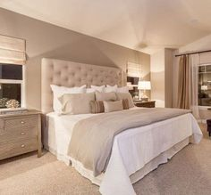 33 Stylish And Elegant Master Bedroom Idea for Your Family is part of Rustic master bedroom - Elegant Bedroom Pictures snapshot gallery will likewise offer a allnatural believe is very likely to produce your rest a lot […] Rustic Master Bedroom, Master Bedroom Design, Cozy Bedroom, Modern Bedroom, Bedroom Designs, Master Suite, Master Bedrooms, Bedroom Red, Bedroom Small