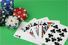 Poker is a card game base on a 5 card hand. The ranking of hands from lowest to highest are high card, pair, two pair, three of a kind, straight, flush, full house, four of a kind, straight flush, and royal flush. The player with the best hand wins. There are many versions of poker such as 5-card draw, 5-card stud, Texas Hold'em, Omaha Hold'em, Razz, Pineapple, and 7-card stud.