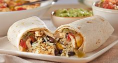 Lemon Pepper Chicken & Tri Color Pepper Burritos