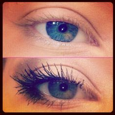 Outer 1/3 eye makeup application method. Makes eyes look bigger and brighter.