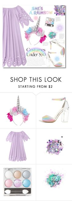 """unicorn"" by mmk2k ❤ liked on Polyvore featuring Charlotte Russe, The Gypsy Shrine and Hudson Jeans"