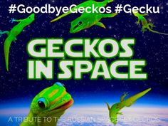 """I created """"A Tribute to the Russian Space Sex Geckos"""" with Haiku Deck, presentation software that's simple, beautiful, and fun."""
