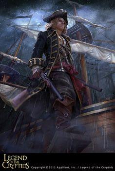 Pirata legend of the cryptids
