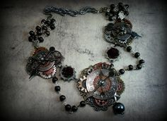 Hey, I found this really awesome Etsy listing at https://www.etsy.com/listing/188267519/steampunk-jewelrysteampunk-necklaceclock