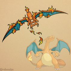 Pokeapon Remake - Charizard