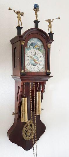 Large Dutch Vetus Brass Ship 39 S Bell Bulkhead Ships Clock