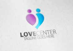 Love Center Logo by Samedia Co. on Creative Market