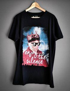 Enjoy the Silence by PlayShirts on Etsy  #play_shirts #playshirts #tshirts #depechemode #dm #vangogh #enjoy_the_silence #famouspaintings #mashup #popart