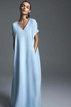 Simple Dresses, Casual Dresses, Summer Dresses, Modest Fashion, Fashion Dresses, Dress Skirt, Dress Up, Mode Abaya, Mode Inspiration