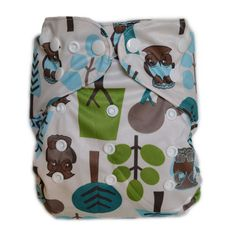 WolbyBug Diaper Cover Owl #ClothDiapers #DivaDiapers