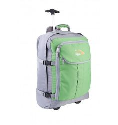 Cabin Hand Luggage Trolley Backpack with padded laptop compartment -Lyon+ by Cabin Max (Grey/Green) Luggage Trolley, Travel Luggage, Hand Luggage, North Face Backpack, Lyon, Green And Grey, Laptop, Cabin, Backpacks