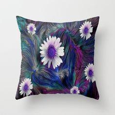 Stress Free Zone Throw Pillow by Pepita Selles - $20.00