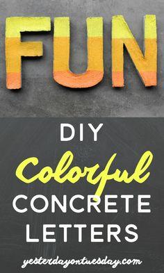 Create colorful FUN