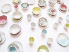 Lucille {m} dinette en porcelaine