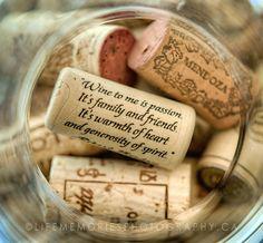 collection of wine corks, via Flickr.