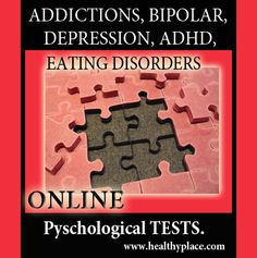Online Psychological Tests - www.healthyplace.com/psychological-tests/ - #psychologicaltest #healthyplace