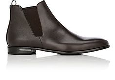 We Adore: The Saffiano Leather Chelsea Boots from Prada at Barneys New York
