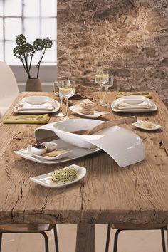 Villeroy & Boch Urban Nature servies. #tafelen #diner #eetkamer