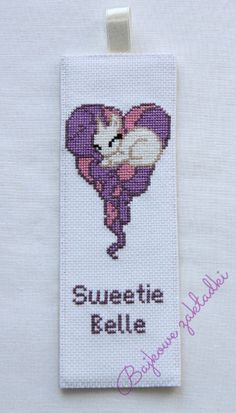 Zakładka do książki Sweetie Belle Sweetie Belle bookmark