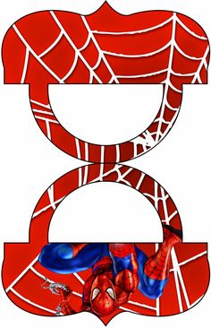 Spiderman: Etiquetas para Candy Bar para Imprimir Gratis.