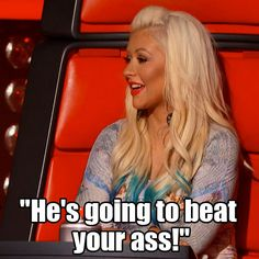 Christina on an artists proud papa! #TheVoice