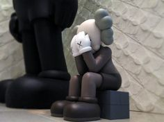 Kaws Passing Through brown Backrest Pillow, Pillows, Brown, Bed, The Originals, Living Room, Stream Bed, Brown Colors, Cushions