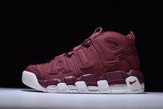 8c6ab88e2e15 Nike Air More Uptempo QS Bordeaux Night Maroon 921949 600 Mens Womens Running  Shoes