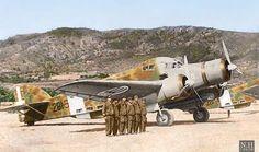 """いいね!1,013件、コメント3件 ― Historians Unionさん(@war_colourised)のInstagramアカウント: 「Savoia-Marchetti SM.79 Sparviero """"Sparrowhawk"""" torpedo - bomber aircraft of 281 squadron,132 Gruppo…」"""