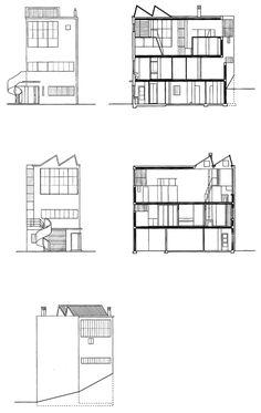 Maison-Atelier Ozenfant à Paris par Le Corbusier | Archigraphie