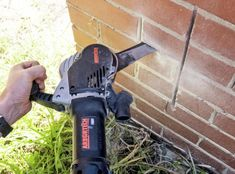 Arbortech Brick and Mortar Saw Saws Through Brick Like Butter - Arbortech brick saw AS170 Brick Saw, Like Butter, Cool Pools, Awesome Pools, Construction Tools, Must Have Tools, Diy Home Repair, Brick And Mortar, Tool Sheds