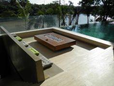 Casa PV / Sérgio Sampaio Arquitetura + Planejamento #varanda #piscina #terrace #pool #view