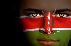 Kenya Flag Boy Capital: Nairobi