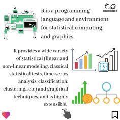 Quick Introduction Of R  By : www.infinitycodex.in  #python3 #python #rm #robotics #rprogramming #datavisualization #dataanalyst #data #datasciences #machinelearningmaster #machinelearning #deeplearning #window #linux #macos #opensource #stats #statistics #mathmemes #mathematics #mathproblems #graphicdesign #knowledge #programming #skills #bigdata What Is Data Science, Math Memes, Time Series, Math Problems, Deep Learning, Data Analytics, Big Data, Data Visualization