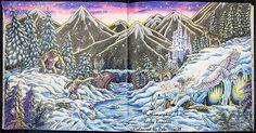 Mythomorphia Snow Scene – La Artistino – Peta Hewitt