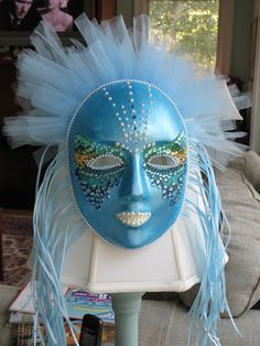 """Mask created for 2013 Bay School Auction """"Unmasking Art"""""""
