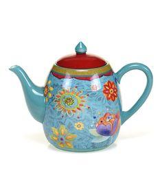 Certified International Tunisian Sunset Teapot   zulily