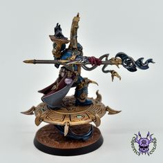 Thousand sons (Tzeentch) - Exalted Sorcerer #ChaoticColors #commissionpainting #paintingcommission #painting #miniatures #paintingminiatures #wargaming #Miniaturepainting #Tabletopgames #Wargaming #Scalemodel #Miniatures #art #creative #photooftheday #hobby #paintingwarhammer #Warhammerpainting #warhammer #wh #gamesworkshop #gw #Warhammer40k #Warhammer40000 #Wh40k #40K #chaos #warhammerchaos #warhammer40k #tzeentch #thousandsons #ExaltedSorcerer Thousand Sons, Warhammer 40000, Tabletop Games, Gw, Miniatures, Creative, Painting, Board Games, Painting Art